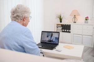 telehealth for elderly resident of senior housing